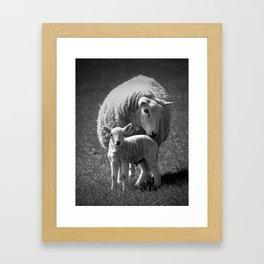 Me and My Mum Framed Art Print