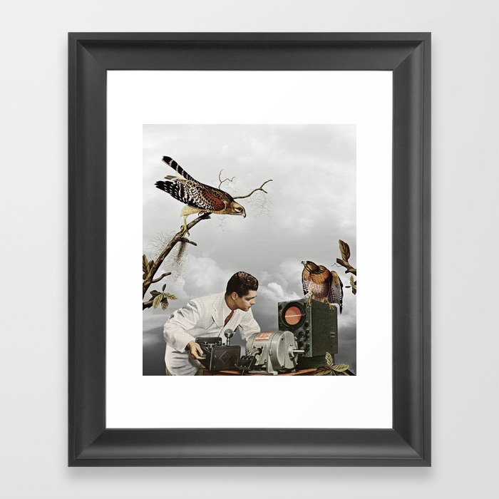 third beat III Framed Art Print