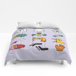 Aztec Writing Comforters