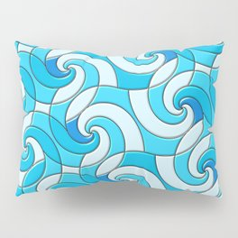 Swirls Pillow Sham