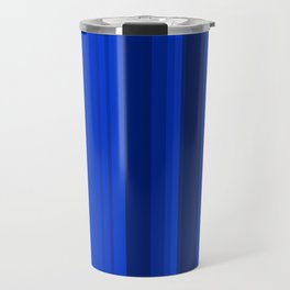 Blue Stripes Travel Mug