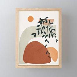 Soft Shapes I Framed Mini Art Print