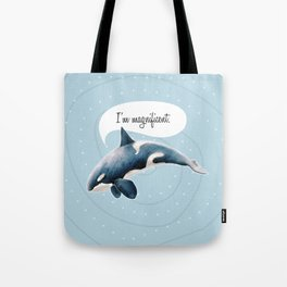 orcinus orca Tote Bag