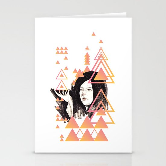 Noir Series 002. Stationery Cards