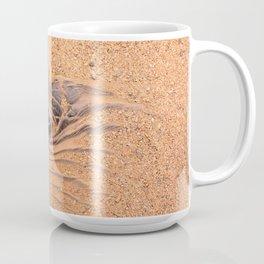 Wood in the Sand Coffee Mug