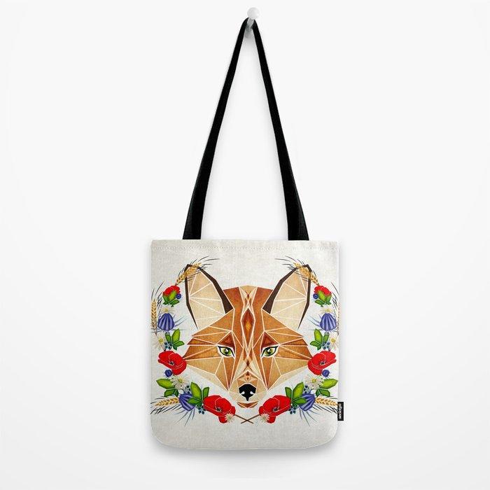 spring fox  Tote Bag