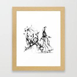 concubine - cs139 Framed Art Print