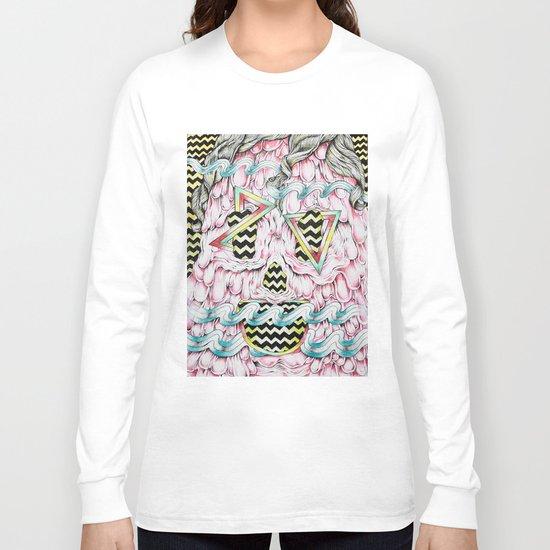 Face Melt Long Sleeve T-shirt
