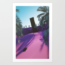 Palm King Art Print