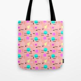 Memphis Forever - Peach Tote Bag