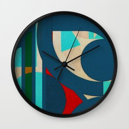 A Lion in the Moonlight Wall Clock