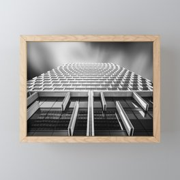 Sunshades Patterns, Light, and Shadow. Framed Mini Art Print