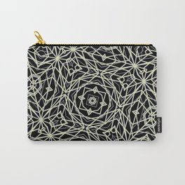 Polygons Pattern Print Carry-All Pouch