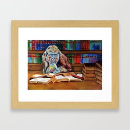 Ishmael- homage to Daniel Quinn Framed Art Print