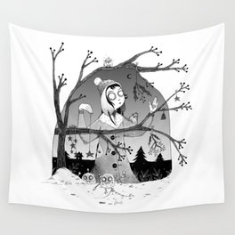 Preparations Wall Tapestry