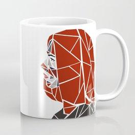 Natasha Romanoff Polygonal Design Coffee Mug