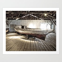 Chesapeake Workboat Art Print