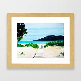 Hello Paradise Framed Art Print