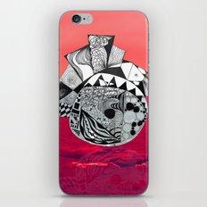 Orb in sea iPhone & iPod Skin