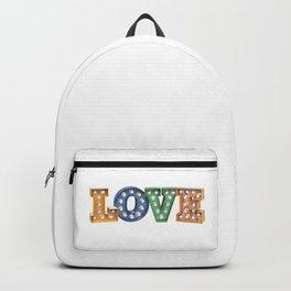 L O V E – Bulb Backpack
