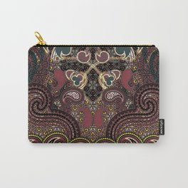 Flaming Hearts Carry-All Pouch
