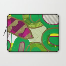 absract green Laptop Sleeve