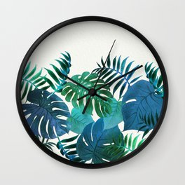 My Tropical Garden 18 Wall Clock