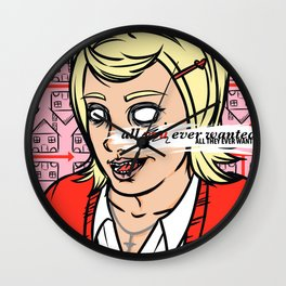 Tradition's Loving Embrace Wall Clock