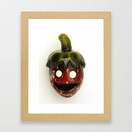 Elderly Strawberry Framed Art Print