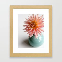 Dahlia Bellelaine Framed Art Print