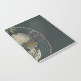 Palm Skull Notebook