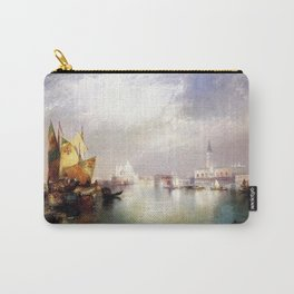 The Splendor of Venice, Italy landscape painting by Thomas Moran Carry-All Pouch