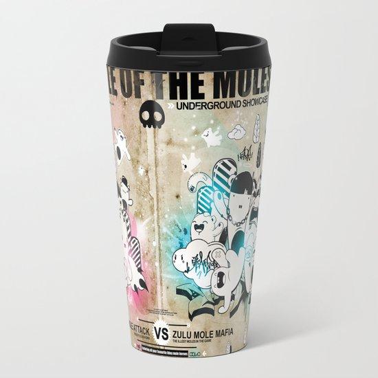 Battle of the moles Travel Mug