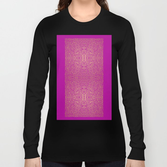 Radiate (Yellow/Ochre Raspberry) Long Sleeve T-shirt