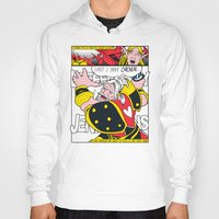 lichtenstein Hoodies featuring Leeeeee-ROY Lichtenstein!!! by Oubliette