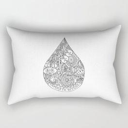 Namaste Bitches Rectangular Pillow