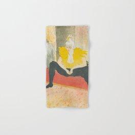 """Henri de Toulouse-Lautrec """"Sitting Clown"""" Hand & Bath Towel"""