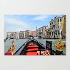 Gondola Ride in Venice Canvas Print
