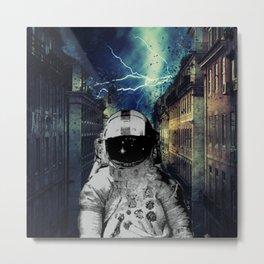 He the Storm Metal Print