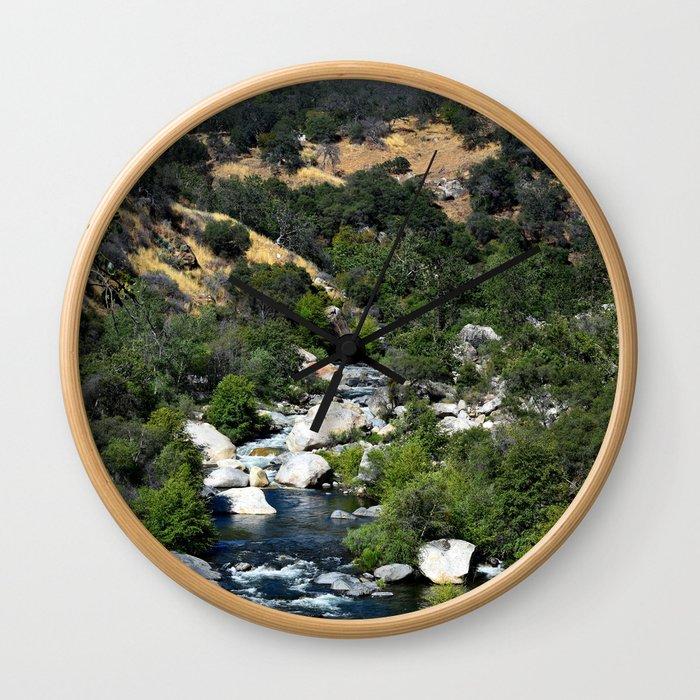 California Landscape Wall Clock