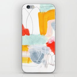 abstract painting XVI iPhone Skin