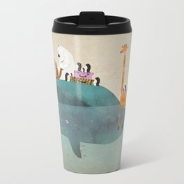 summer holiday Metal Travel Mug