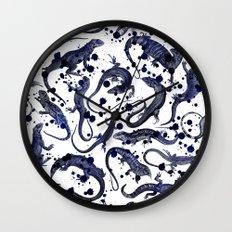 Reptilia Wall Clock