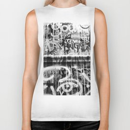 The Writing on the Wall Biker Tank