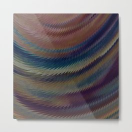 Oil and Water Metal Print