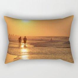 Sunrise At Myrtle Beach Rectangular Pillow