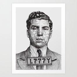 Lucky Crime Boss Art Print