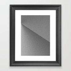 Grey Composition #1 Framed Art Print