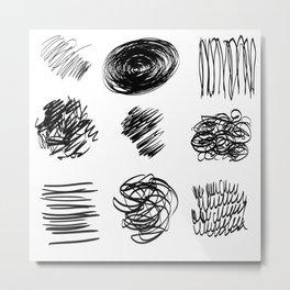 Scrisuri Metal Print