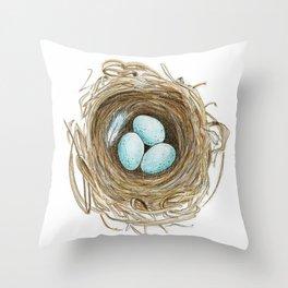 Nest 1 Throw Pillow